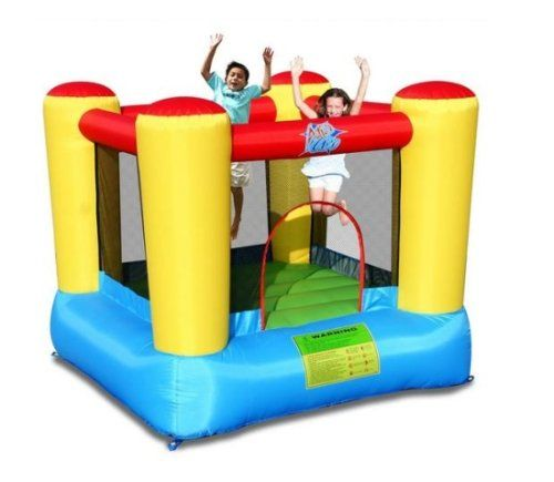 #PopularKidsToys Just Added In New Toys In Store!Read The Full Description & Reviews Here - Airflow Bouncy Castle - With the Airflow bouncy castle from Action Air, your kids can have hours of fun and laughter jumping and bouncing around. This colourful, inflatable castle is great for in the garden on a warm summer days, with a handy safety net your child can jump about safely. It inflates continuously by an electric pump and stays inflated even if pinholes occur. Maximum user