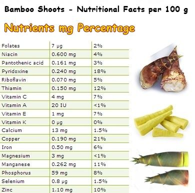 Young, tender and fragrant bamboo shoots are an absolute culinary delicacy and a vegetable worth the attention of anyone looking to keep in good health.  #bamboo #health #cleanair #cleanwater