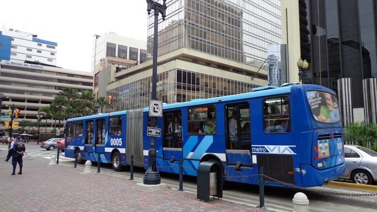 Sistema de transporte masivo - Guayaquil -Ecuador Agosto 2012