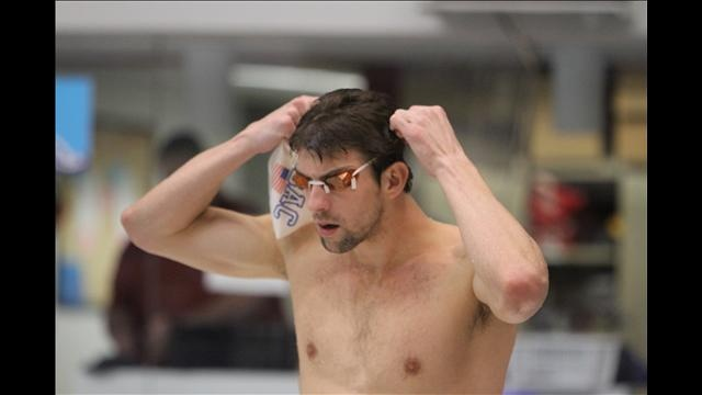 3/28/12 - Channel 3 went to the 2012 Indianapolis Grand Prix to take a look those vying for a spot on the US #Olympic swimming team. Here #MichaelPhelps gets his googles on for a swim.  Check out the rest of our photos by clicking on the picture.