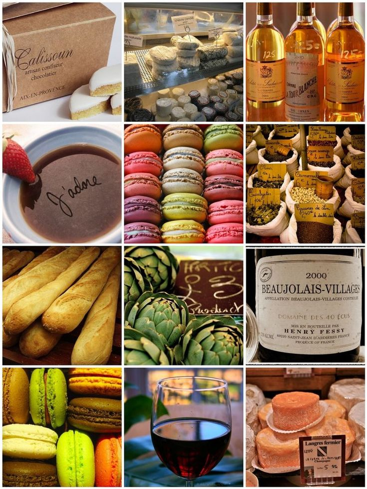 French food fantasies ... Close your eyes and picture a feast that feeds all your senses. #Horchow
