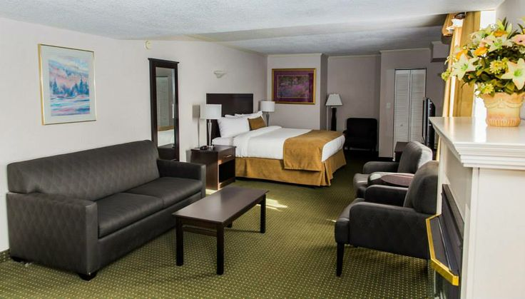 Great new shot of one of our modern, comfortable rooms.