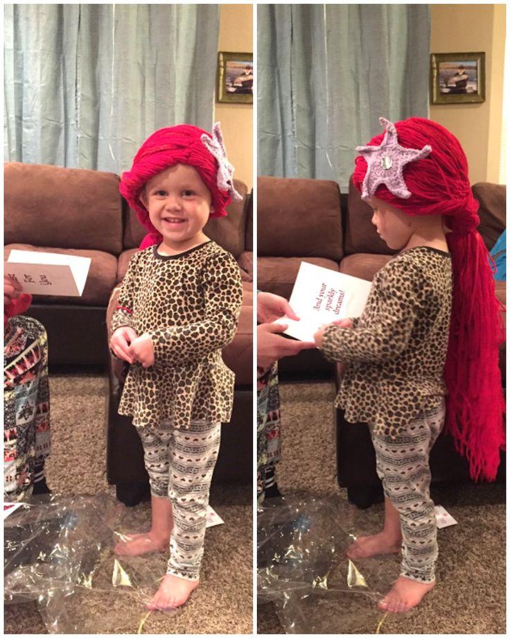 Pelucas de princesa para niños enfermos de cancer