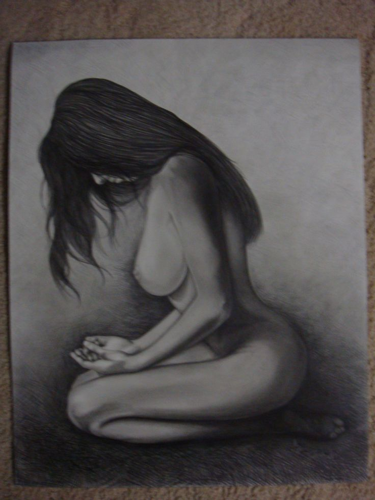 Nude with graphite pencil - Andrea Duregon