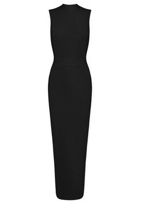 Les robes de soirée longues sont le summum du glamour ; cette robe robe taille crayon maxi noire moulante est d'une grande classe. Au dos, une fente apparaît au bas de la robe, pour un effet chic et sexy. A porter lors de grandes soirées chic ou des cocktails pour mettre la magnifique silhouette féminine.