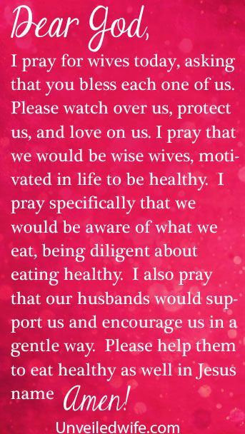 Prayer Of The Day – Eating Healthy by @Kristen Mc Elwee Brown