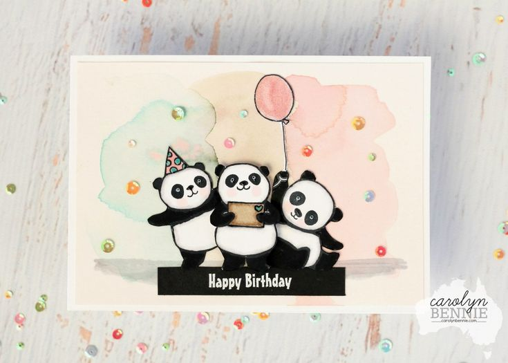 Stampin' Up! Party Pandas - Sale-A-Bration- Carolyn Bennie, Australian Stampin' Up! Demonstrator carolynbennie.com