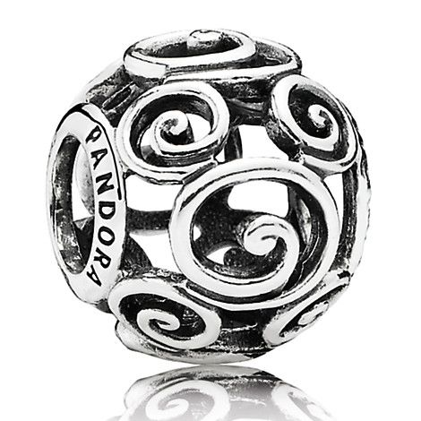 Mickey Mouse ''Mickey Swirls'' Charm by PANDORA