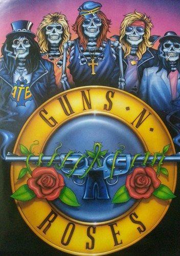 Guns N Roses 1988 Rare Vintage Poster