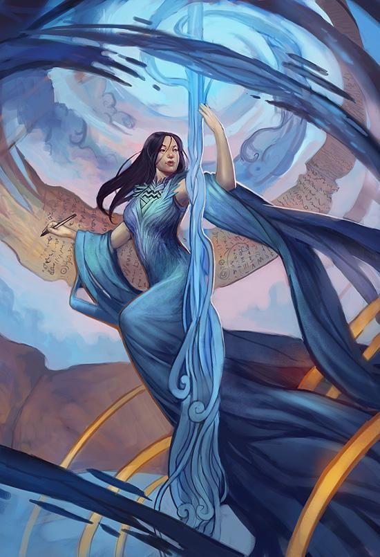 Aquarius llewellyn worldwide, Digital Art by Julie Dillon