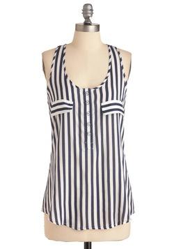 Sailor.Stripes Blouses, Nautical Stripes, Dresses Shirts, Men Shirts, Black White, Stripes Tanks, Art Stripes, Summer Tops, Racerback Tanks