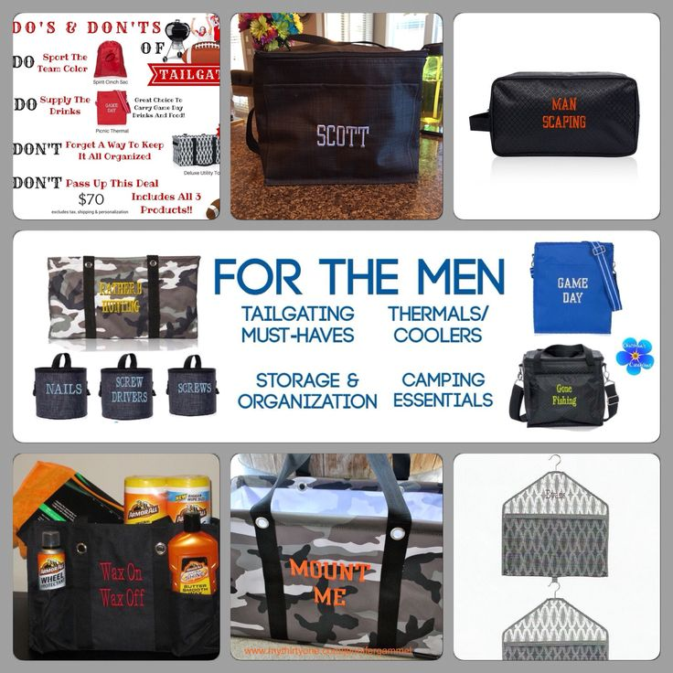 Thirty One Gifts Fall 2015  for the men                                                                                                                                                      More