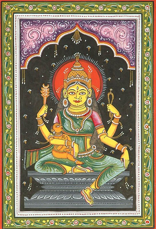 Indrani - Hindu goddess of insight