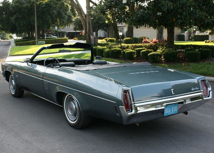 1971 Oldsmobile 88 Royale convertible.