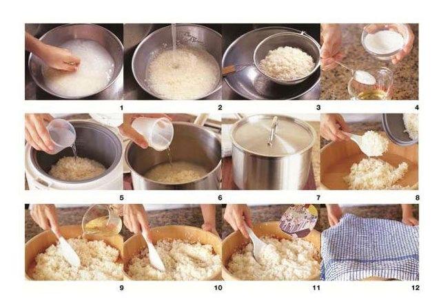 Como hacer arroz para sushi