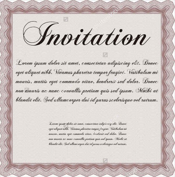 15 Format Of Business Anniversary Invitation Letter Sample And Review Di 2020