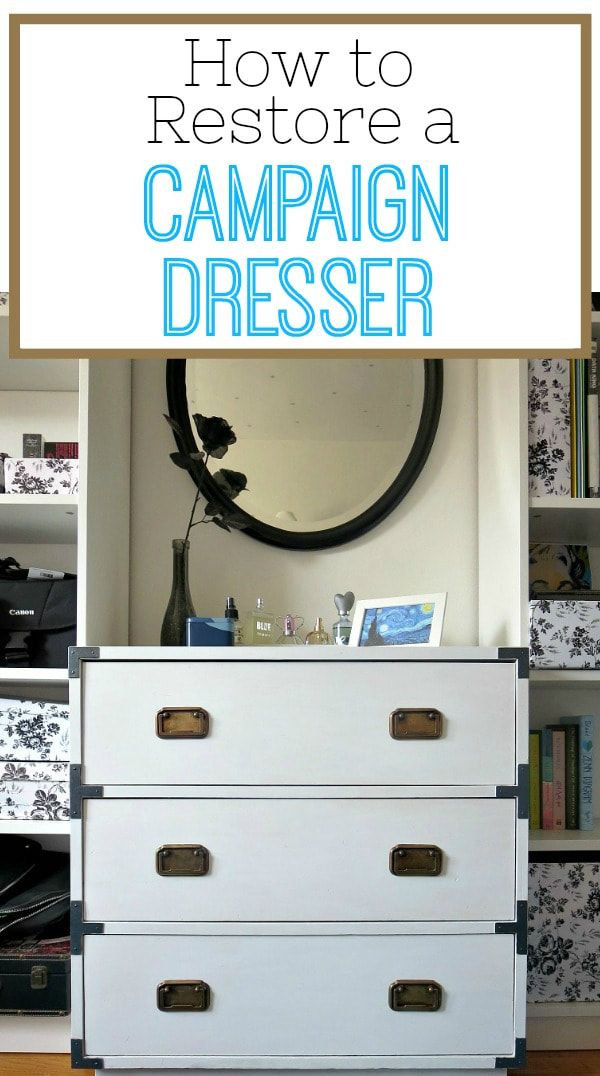 How To Restore A Campaign Dresser The Boondocks Blog Campaign Dresser Furniture Makeover Black And White Furniture