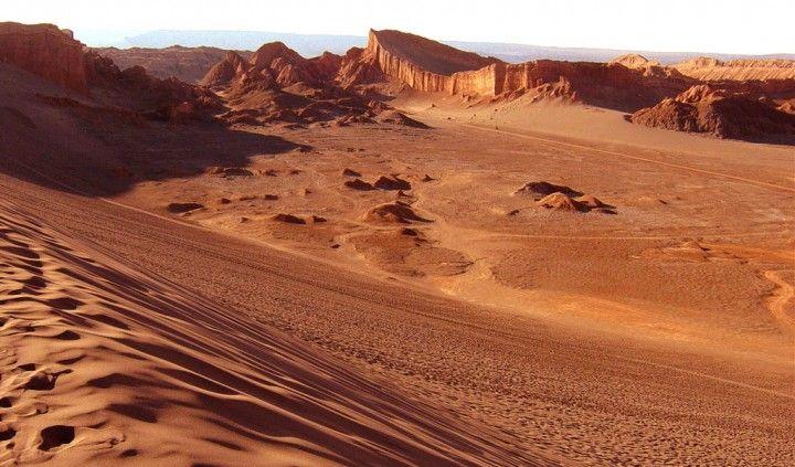 Como todos sabemos, el desierto de Atacama, ubicado el la zona norte del país de Chile, es considerado como el mas árido del planeta.