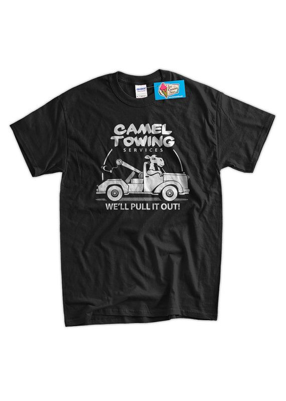 Funny Camel T-Shirt Gifts For Guys Camel Towing by IceCreamTees