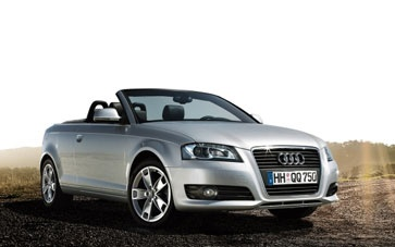 Audi A3 Diesel Cabriolet Car, from only £295.99 + vat per month