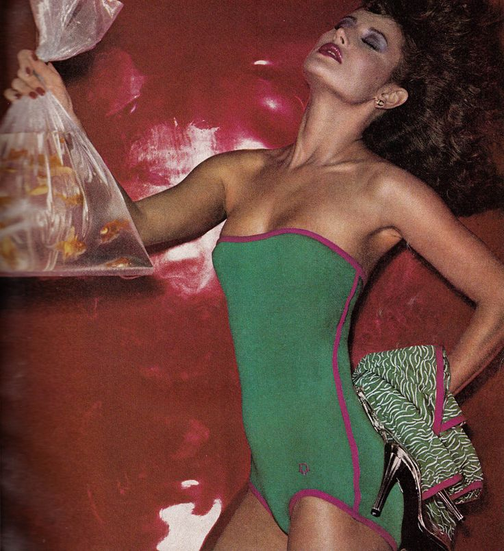 Christian Dior,  Vogue - January 1978,  Photographed by Chris Von Wangenheim