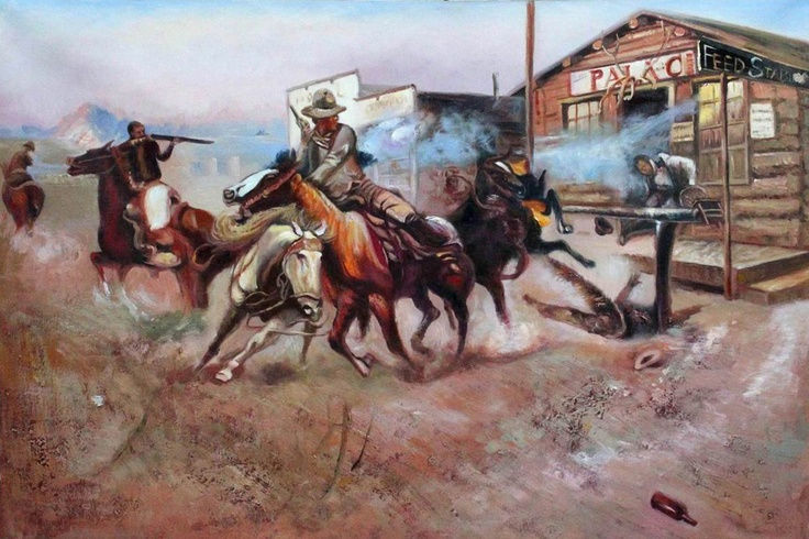 17 Best C M Russell Wild West Art Images On Pinterest