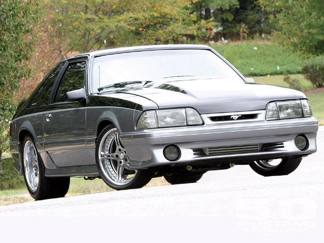 """1990 Mustang GT Silver Fox Twin-Turbo Fox: Mike """"Geezer"""" Kangiser's Rejuvenation Of A Fox GT Got Out Of Hand..."""