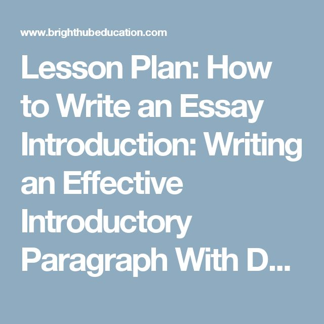 mla essay introduction examples