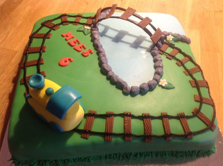 Trein taart!! Leuk voor de verjaardag ?