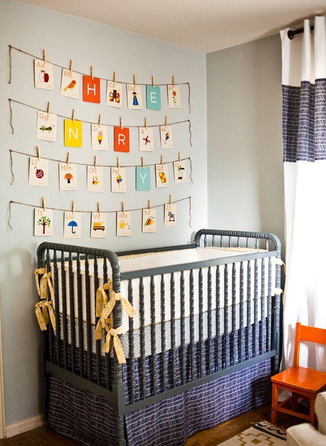 DIY Wall Art | The Prettiest Vintage Nurseries | Babble