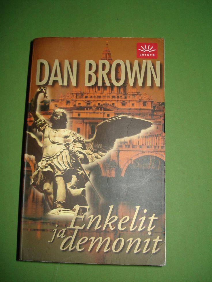 Dan Brown , Enkelit ja Demonit pehmeäkantinen 3 euroa