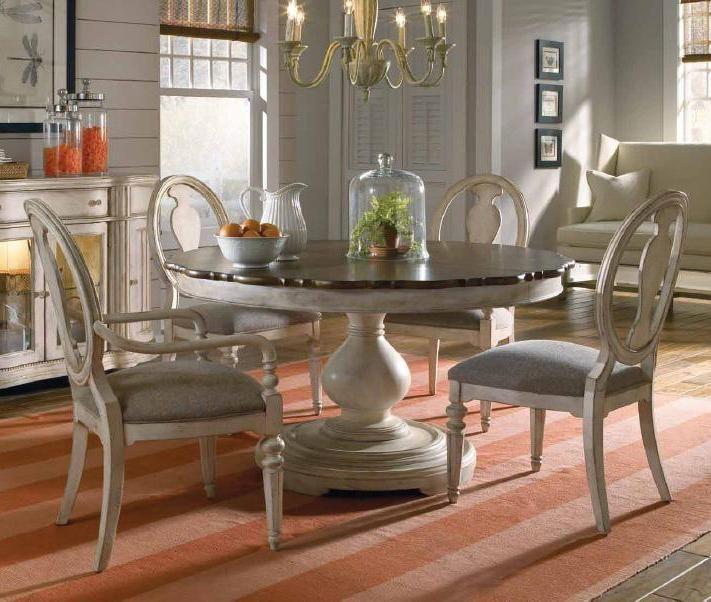 A R T Furniture Inc Belmar Ii 5 Piece Round Dining Table