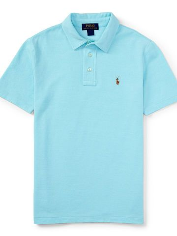 Boys 6 - 14 years Knit Oxford Polo Shirt - Boys 6 - 14 years Polo Shirts