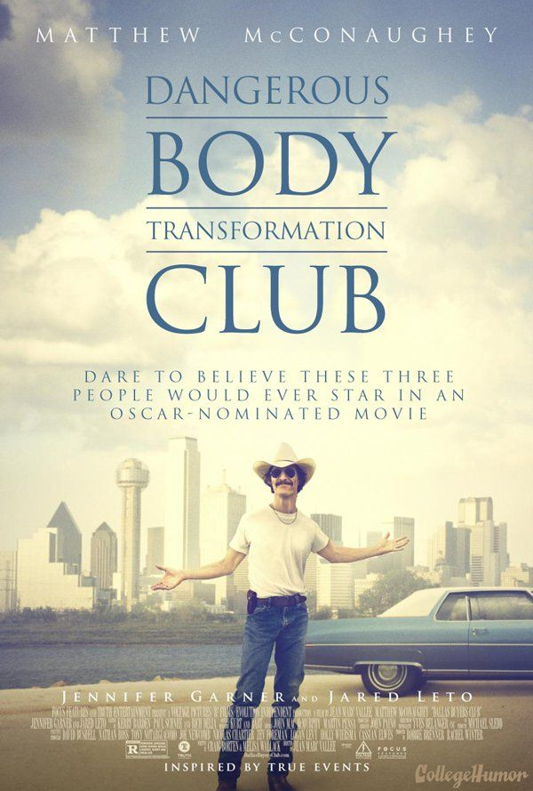 Honest posters: Dallas Buyers Club