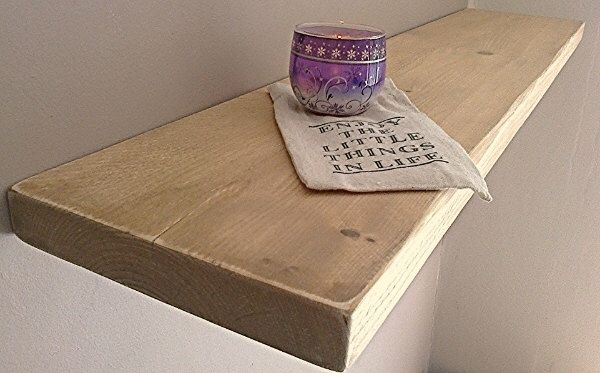 Floating Shelves, Wooden Shelves, Wall Shelf - Distressed - ** FREE UK DELIVERY ** by NewForestWoodCrafts on Etsy https://www.etsy.com/listing/240554673/floating-shelves-wooden-shelves-wall