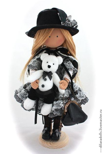Человечки ручной работы. Ярмарка Мастеров - ручная работа текстильная кукла SOPHIE. Handmade.