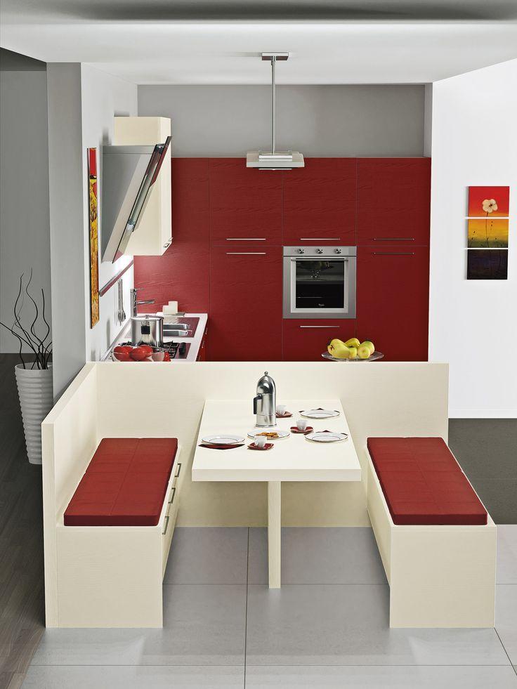 Pi di 25 fantastiche idee su panca per cucina su pinterest cucina panca con seduta panchine - Panca angolare cucina ...