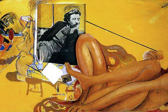 Brett Whiteley: Gaugin (1968), detail.