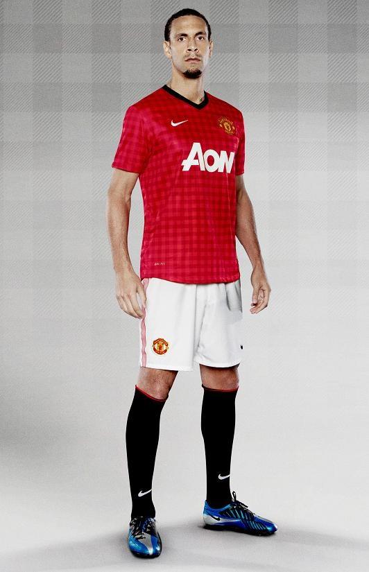 Manchester United Kit for the 2012/2013 Season