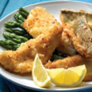 pan-fried yellow perch