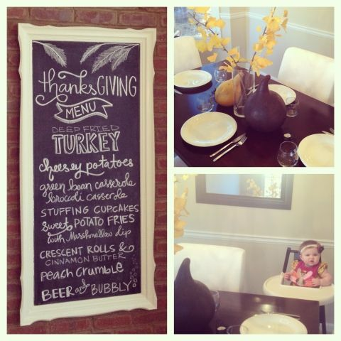 Harpers First Thanksgiving | Little Baby Garvin