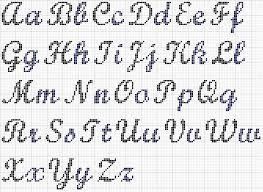 crochet alphabet - Google Search