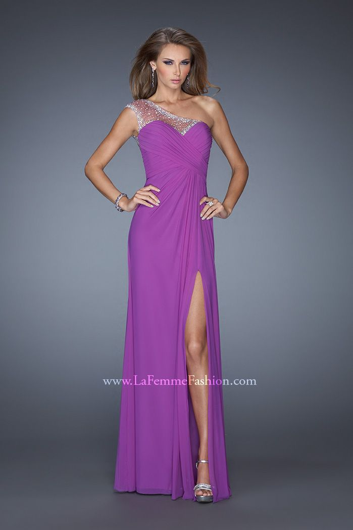 Ong Purple Prom Dresses for Sale