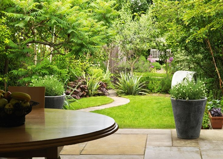 Garden Ideas Long Narrow 9 best small garden inspiration images on pinterest | landscaping