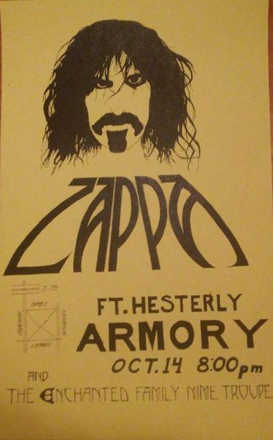 Frank Zappa 1976