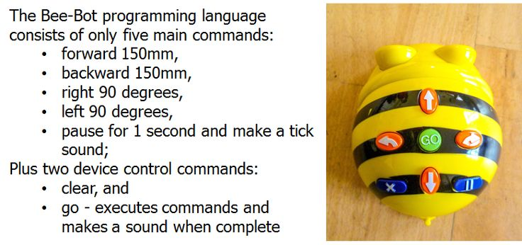 Beebots Tinkering activity from Barefoot