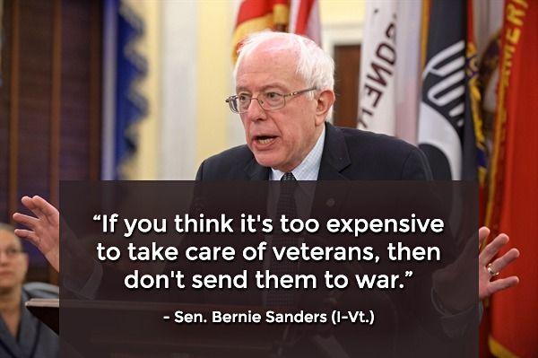 PP: Bernie Sanders. Conscience of the Senate.