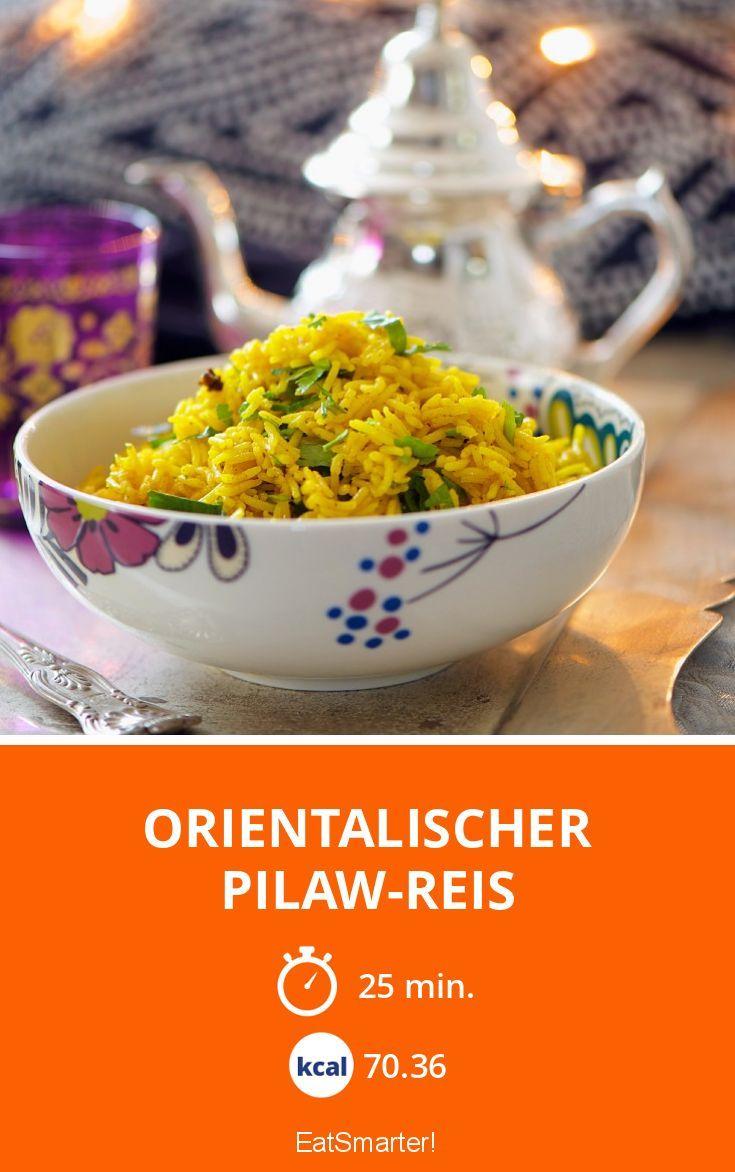 Orientalischer Pilaw-Reis - smarter - Zeit: 25 Min. | eatsmarter.de