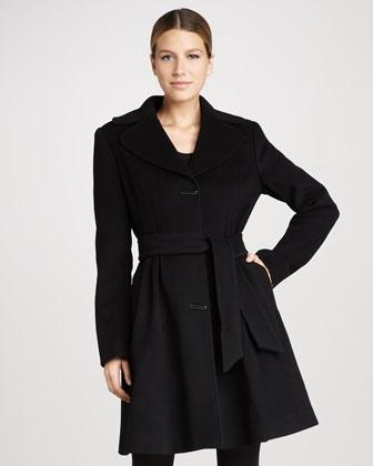 Coat by Badgley Mischka