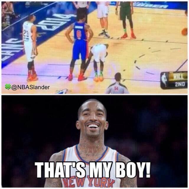 Jr Smith Be Teaching Him Well Nba Funny Nba News National Basketball Association